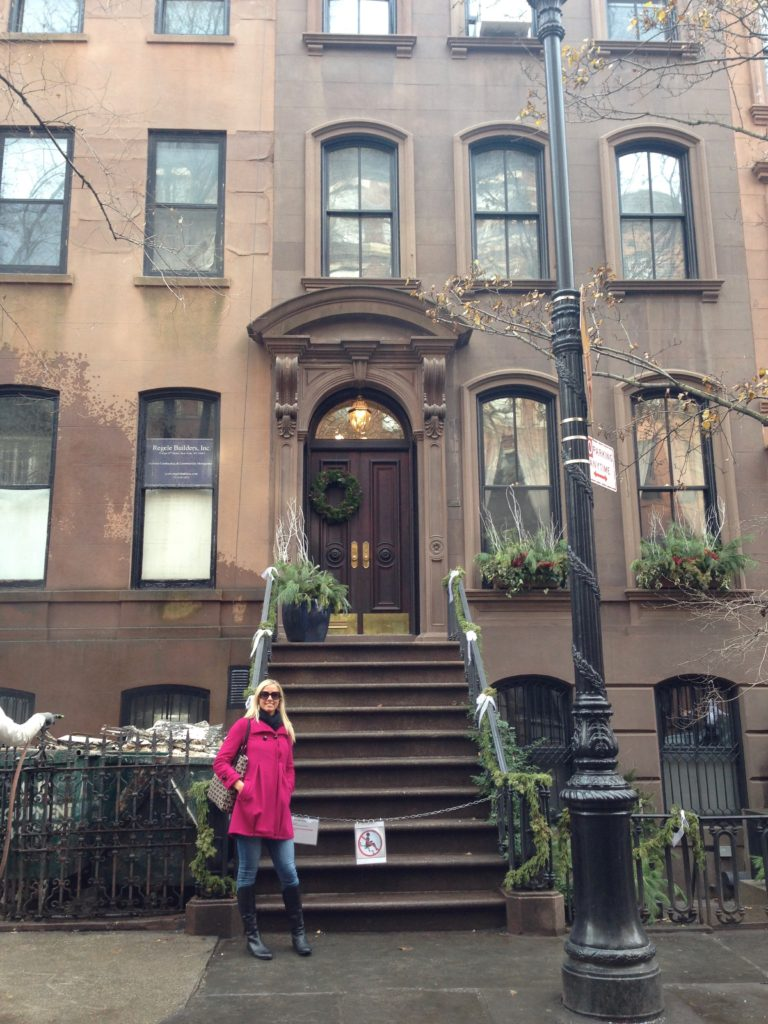 If you LOVE the show Sex and The City like I do, then you MUST stop and see the outside facade of Carrie's home!