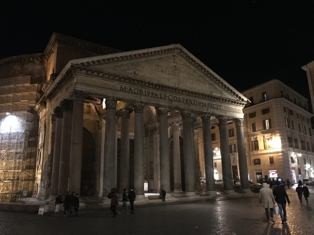 The Pantheon is a historical must see while visiting Rome, Italy