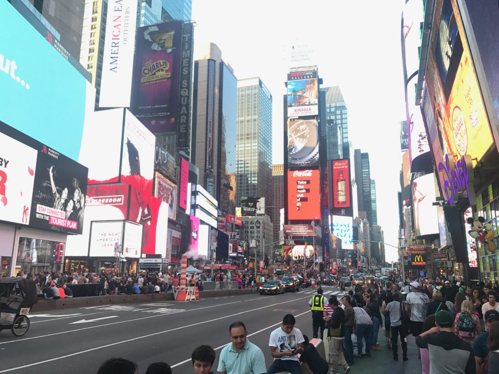 Times Square is a must see when visiting New York City!