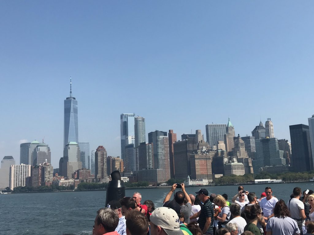 The iconic One World Trade Center is a must visit when visiting New York City!