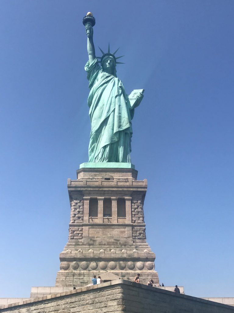 No visit to New York City is complete without visiting the Statue of Liberty