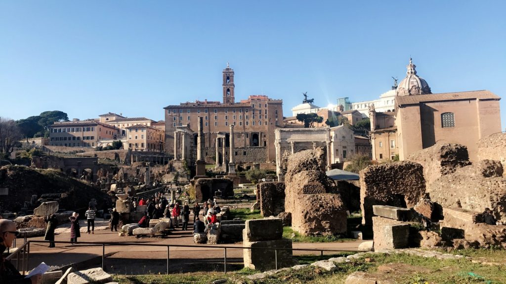 Entry to the Roman Forum is included with your ticket to the Colosseum and is a MUST see