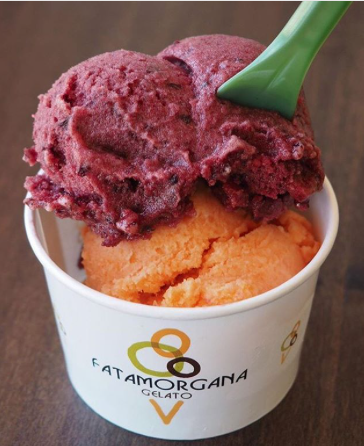 Finish off your pizza and pasta with a bowl of Italian gelato at Fatamorgana, you'll definitely be going back for more