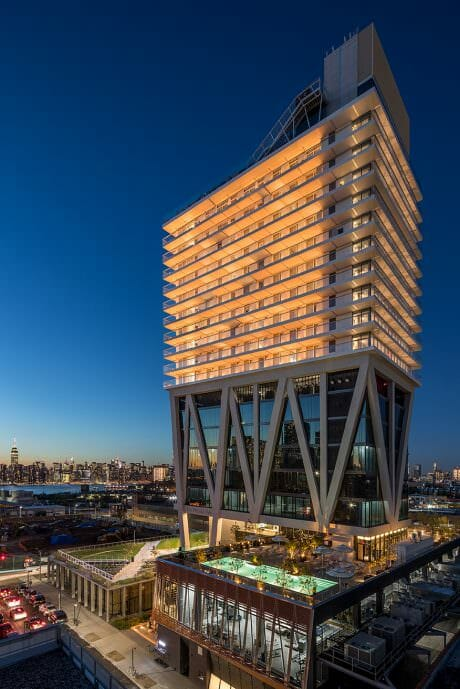 Posh rooms, epic views and a great location! If you're coming to Brooklyn, then The William Vale is where to stay. Use the Hotel Tonight App and my discount code NIWALZ to save money when you book here!