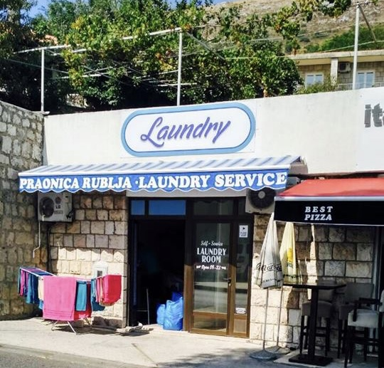 Dominium Bubble is a great laundry facility located outside of Old Town, Dubrovnik, Croatia and it has free wifi!