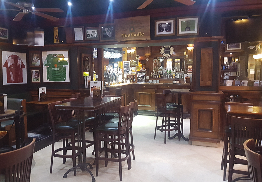 The Gaffee Irish Pub in Dubrovnik, Croatia is a great place to grab a draft beer and some comfort food.