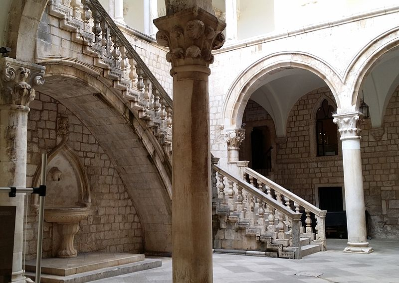 The iconic scene where Danny speaks with the Spice King in Qarth in Game of Thrones, was filmed at Rector's Palace in Dubrovnik, Croatia