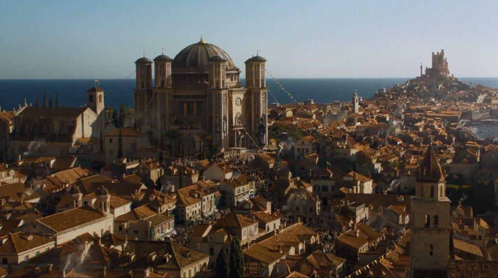 King's Landing in Game of Thrones in Dubrovnik, Croatia