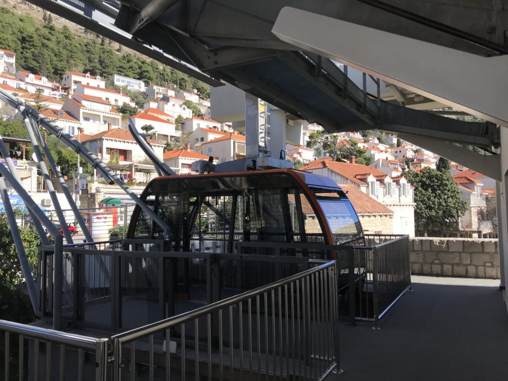 Dubrovnik Cable Car in Croatia Is A Great Way To See The City From Above