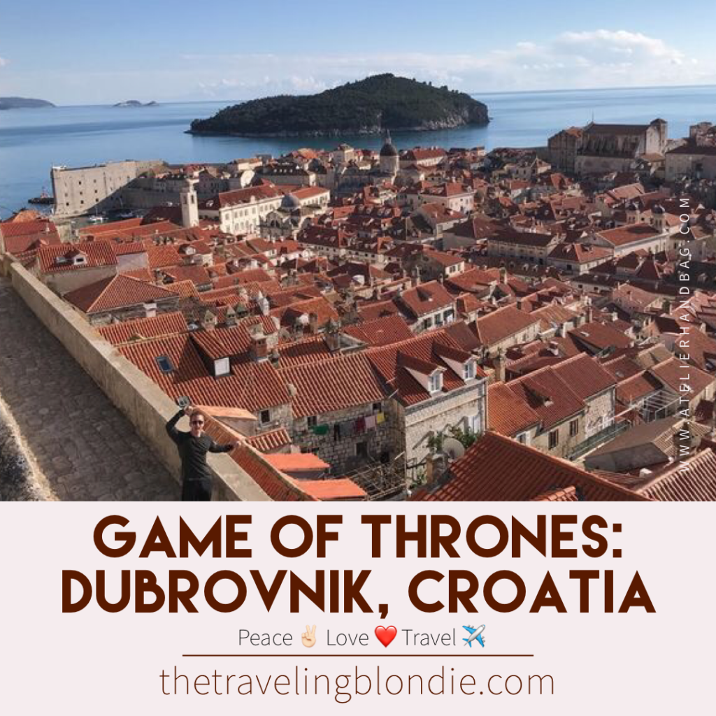 Game of Thrones in Dubrovnik, Croatia: I've mapped out all the top film sites for you to visit, so save your cash on those expensive tours!