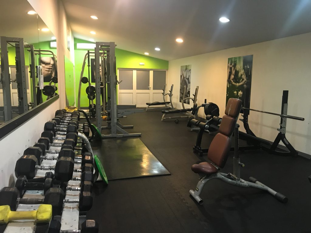 For a real gym with all the normal equipment, Fitness Studio Dynamic is by far the best choice in Dubrovnik, Croatia (and most affordable)!