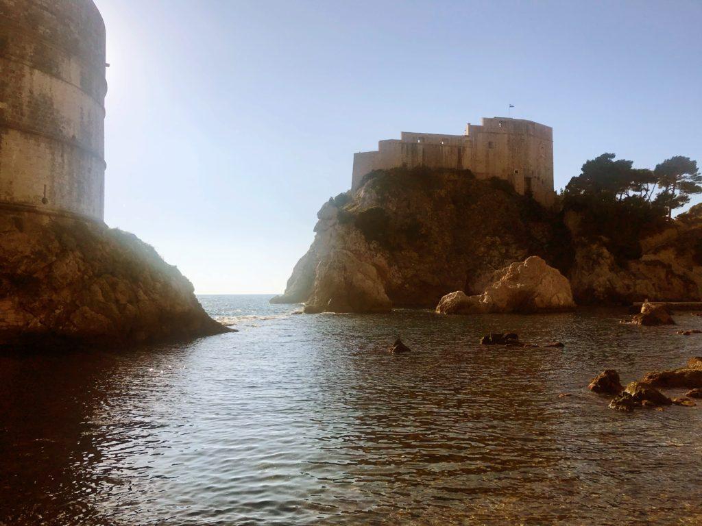 The scene where Marcella leaves for Dorn was filmed in Dubrovnik West Harbour, in Dubrovnik, Croatia