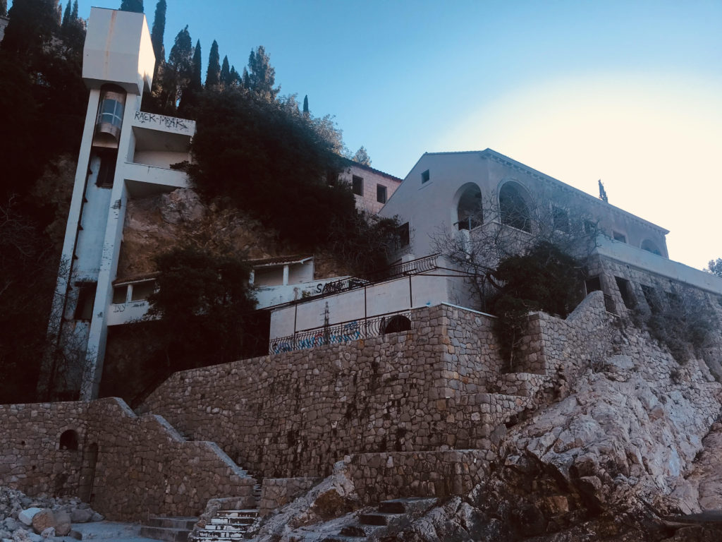 The ICONIC scene where Oberyn and the Mountain fight was filmed at the now abandoned Belvedere Hotel in Dubrovnik, Croatia