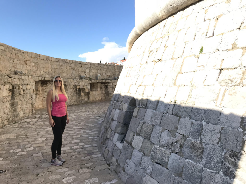 The House of the Undying from Game of Thrones was filmed on the Old Town Wall (Fort Minčeta) in Dubrovnik, Croatia